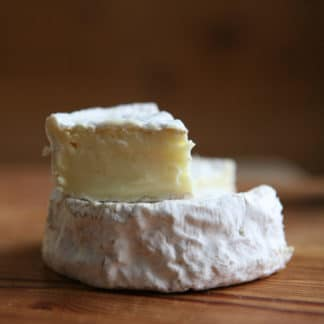 Woolly Rind is a blended cow and sheep milk cheese from Green Dirt Farm.