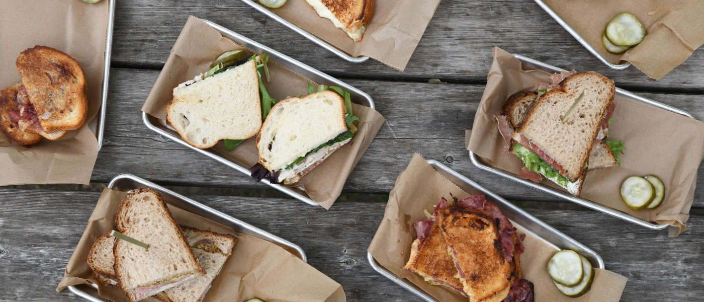 Green Dirt Farm Creamery Sandwiches