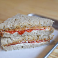 Green Dirt Farm Creamery Sandwich: PB&J