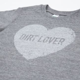 "Green Dirt Farm Kid's ""Dirt Lover"" Tee"