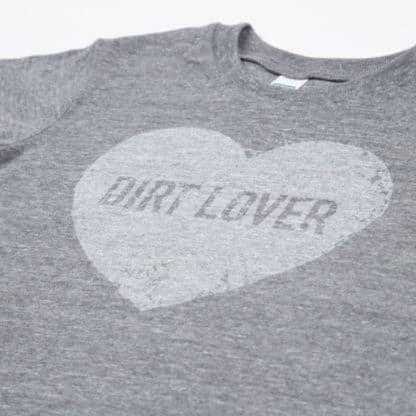 """Green Dirt Farm Kid's """"Dirt Lover"""" Tee"""