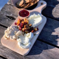 Fresh Cheese Board at Green Dirt Farm Creamery