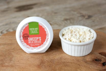 Green Dirt Farm Fresh Spreadable Cheese: Spicy Chilis 1