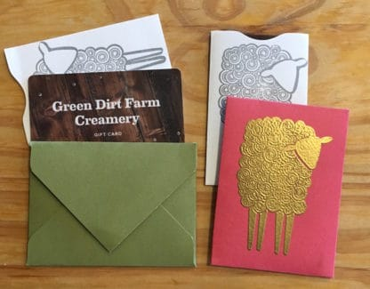 Green Dirt Farm Creamery Gift Card