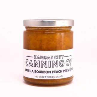 Kansas City Canning Co: Vanilla Bourbon Peach Preserves