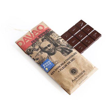 Askinosie Dark Chocolate + Orange Bar