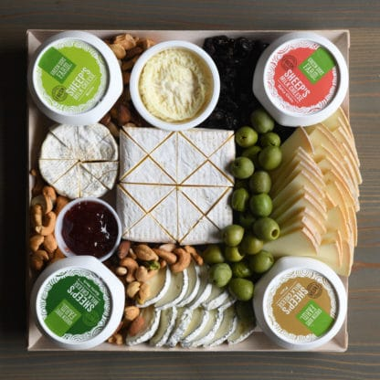 Large Catered Holiday Cheese Board