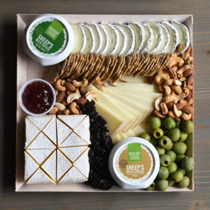 Small Catered Holiday Cheese Board
