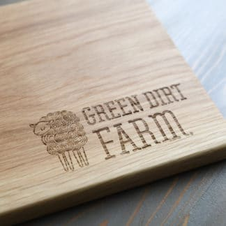 Green Dirt Farm Cutting Board