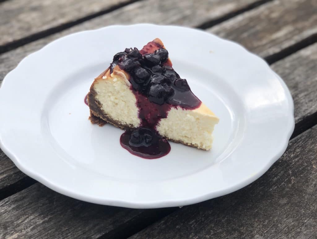 Try this cheesecake with sheep cheese recipe from Green Dirt Farm.
