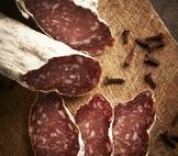 Pair this venetian-style salami with Green Dirt Farm's fresh, sustainable sheep cheese.